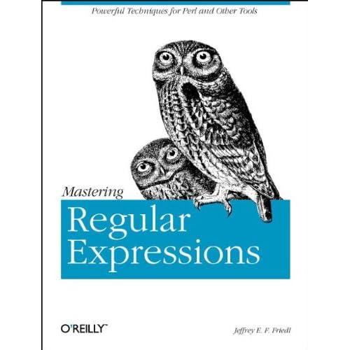 Mastering Regular Expressions (en anglais)