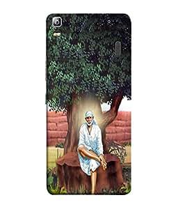 PrintVisa Designer Back Case Cover for Lenovo A7000 :: Lenovo A7000 Plus :: Lenovo K3 Note (Spiritual Hindu)