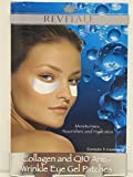 3 Boxes Revitale Collagen & Q10 Anti-Wrinkle Eye Gel Patches - 15 Treatments