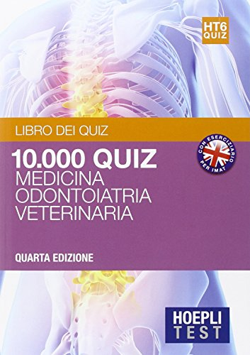 Hoepli test. 10.000 quiz e commentati per i test di amissione all'universit: 6