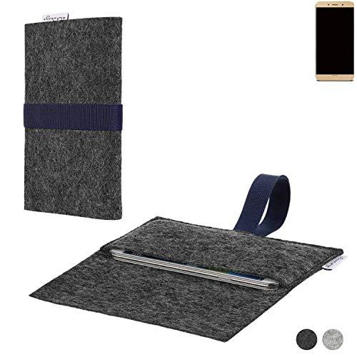flat.design Handy Hülle Aveiro für Allview X4 Soul Lite passgenaue Filz Tasche Case Sleeve Made in Germany