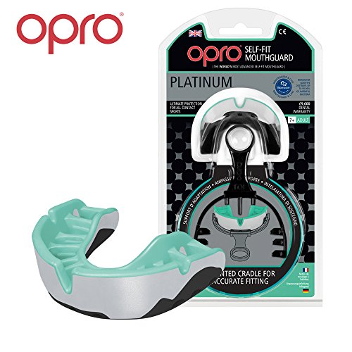 Rugby Protector bucal OPRO Self-Fit GEN 3 Platinum...