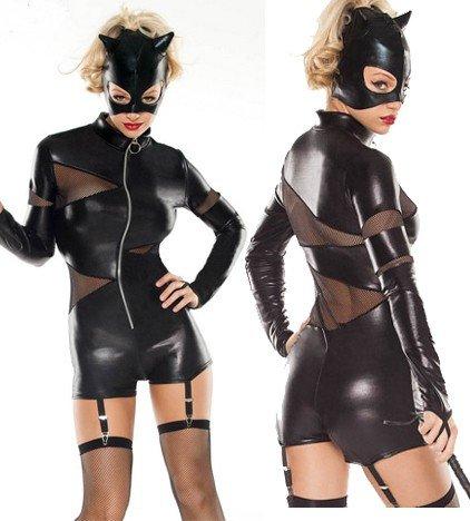 Heißes Kostüm BAD CAT KURZ Gr. -