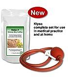 Detox Grüner Bio Kaffee 300g Heimset inkl. Klyso-Pumpe (Anwendung als Kaffeeeinlauf zur Entgiftung, Darmreinigung und Stärkung des Immunsystems)
