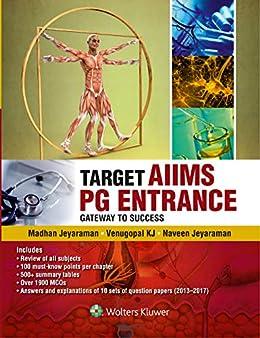 TARGET AIIMS PG Entrance by [Jeyaraman, Madhan, Jeyaraman, Naveen, Venugopal, KJ]