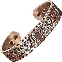 Herren-Magnetarmband aus reinem Kupfer für Arthritis, Magnettherapie für Schmerzen, Gesundheit Armband, Hufeisen-Armband... preisvergleich bei billige-tabletten.eu