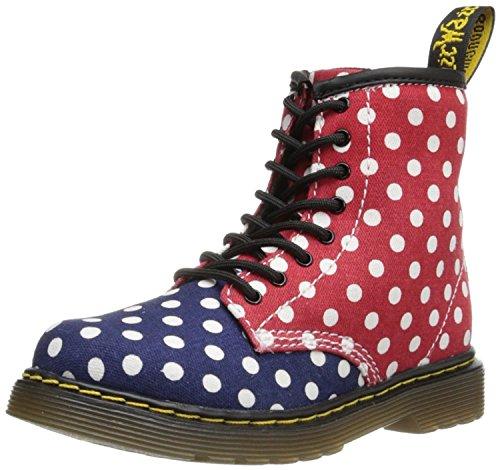 Dr.Martens Kinder Navy / Wei? / Rot Brooklee 8 Augen Boot Print UK 7 (US Infant 8,0) B (M) US (Navy Infant Schuhe)