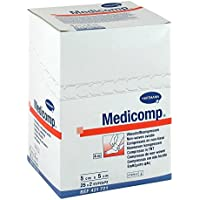 Medicomp Kompr.5x5cm steril, 25X2 St preisvergleich bei billige-tabletten.eu