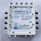 Jultec JRS0502-4+4T Einkabelumsetzer stromsparend1 Satellit bis zu 12 Teilnehmer Multischalter