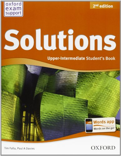 Solutions. Upper intermediate. Student's book-Workbook. Per le Scuole superiori. Con CD Audio