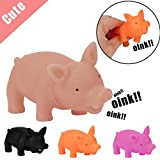 Omiky® 8CM Shrilling Pig Squeaky Rubber Pig Entspannen Squeeze Realistisches Spielzeug