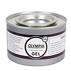Olympia CE241 Chafing Gel Fuel, 200 g (Pack of 12)