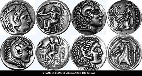 Alexander Iii El Gran Authentic Antiguo De Plata Dracma Moneda Goods Of Every Description Are Available Coins: Ancient