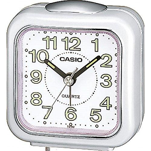 Casio Collection TQ-142-7EF, Reloj Digital con Alarma Diaria, Blanco