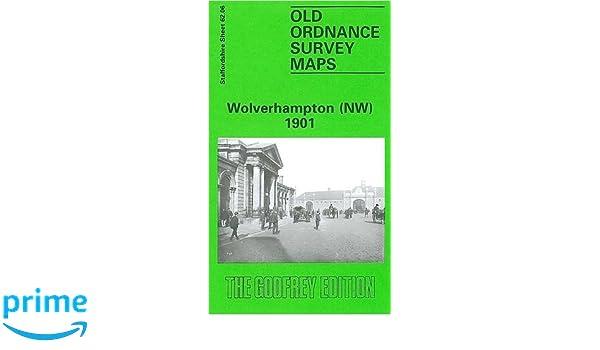 Old Ordnance Survey Maps Wolverhampton NE /& Heath Town Staffordshire 1901