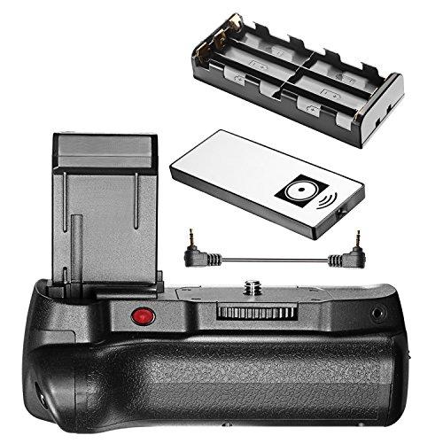 Neewer Infrarot-Fernbedienung, vertikaler Batteriegriff mit LP-E10-Akku für Canon 1100D, 1200D, 1300D, Rebel T3, T5, T6, SLR Digitalkameras (Camera Digital Rebel)