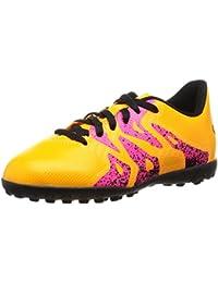 Adidas X 15.4 TF J, Botas de fútbol Unisex Niños