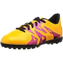 separation shoes db24b 311a8 adidas X 15.4 TF J, Botas de fútbol Unisex Niños