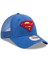 42b2b7965f466 A NEW ERA DC Comics Superman Symbol Washed Trucker Gorra De Béisbol