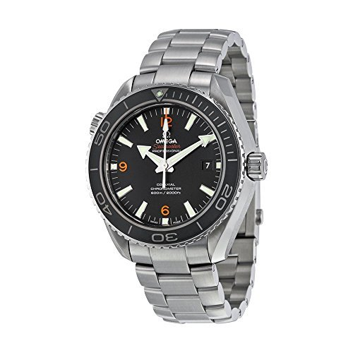Omega Men's 232.30.46.21.01.003 Planet Ocean Big Size Black Dial Watch by Omega