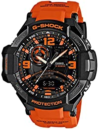 Casio Herren-Armbanduhr XL G-Shock Superior Series Chronograph Quarz Resin GA-1000-4AER