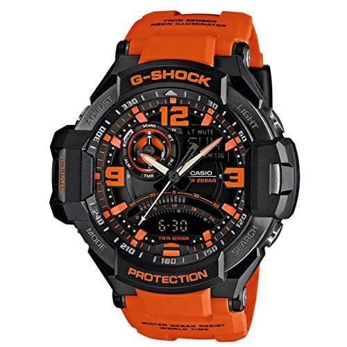Casio-Mens-Watch-XL-G-Shock-SUPERIOR-Series-Chronograph-Quartz-Resin-Ga1000-4AER