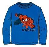 Brandsseller Jungen Langarmshirt Sweatshirt Oberteil mit Spiderman Motiv - 98/104