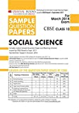 Oswaal CBSE Sample Question Papers Class 10 Social Science (Mar. 2018 Exam)