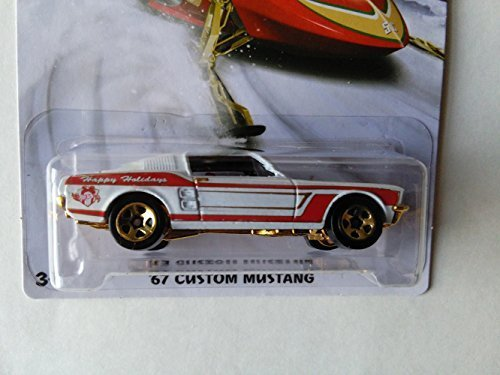 Hot Wheels, Add To Hot Wheels 2015 Car Set Collection, Holiday Hot Wheels, Holiday Hot Rods, 67 Custom Mustang, #2/6