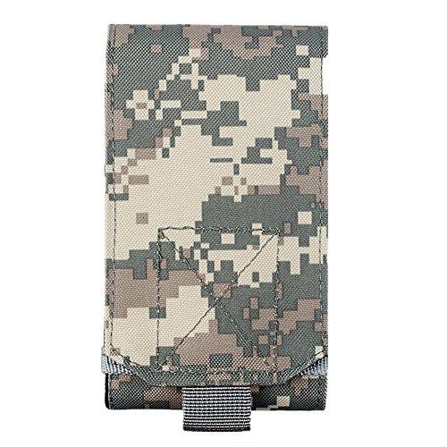 """L-Peach 1000D Nylon Molle Multifunktionen Taktische Hüfttaschen Tasche Gürteltasche Übergröße Taktisch Smartphone EDC Zubehör Taillepäckchen Hülle für 5,5"""" Smart Phones"""