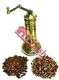 3x Türkisch Messing Kaffeemühle–Groß–mit Ball–Big Verkauf