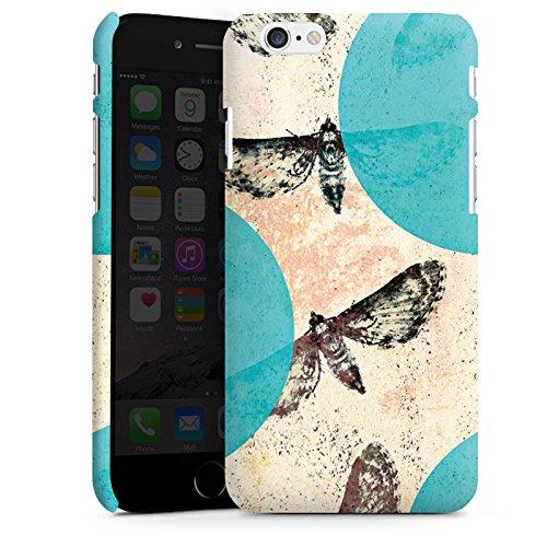 Apple iPhone X Silikon Hülle Case Schutzhülle Motten Muster Motte Premium Case matt