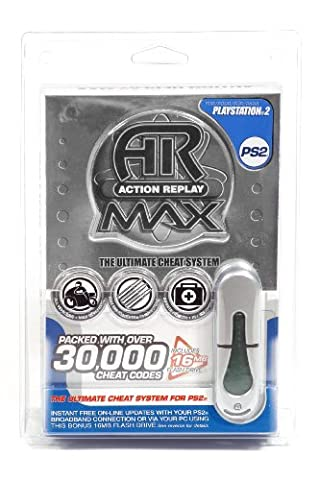 Action Replay Max PS2 Evo Edition + 16Mb Pen