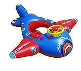 RemeeHi Enfants Bouée bébé Float Seat Avion Jouet pour Enfant Gonflable de Piscine pour Bague