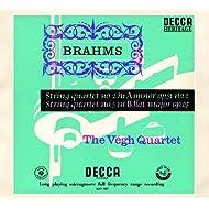 Brahms: String Quartets Nos.2 & 3