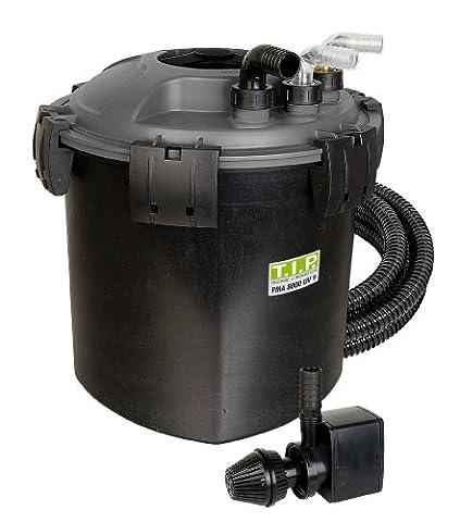 T.I.P. Teichdruckfilter PMA 8000 UV 9, UV-C 9 Watt, für Teiche bis zu 8.000 Liter