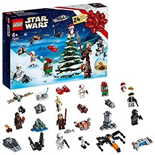 LEGO 75245 Star Wars Advent Calendar 2019 Christmas Countdown Building Set with 24 Buildable Mini Sets plus 6 Minifigures and 4 Droid Figures (B07NDBFFDK) | Amazon price tracker / tracking, Amazon price history charts, Amazon price watches, Amazon price drop alerts