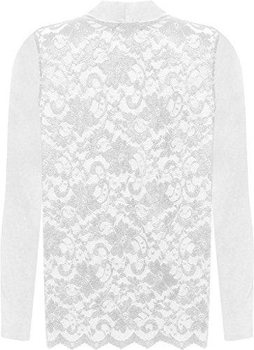 Islander Fashions - Gilet - Femme Weiß