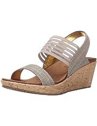62dfcb332bdb Amazon.co.uk  Skechers - Sandals   Women s Shoes  Shoes   Bags