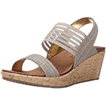 8957bd3505445 Amazon.es  Sandalias Cuñas - Skechers
