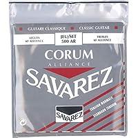 Savarez 656077 - Cuerdas para Guitarra Clásica Alliance Corum 500AR Juego Tensión standard roja