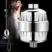 AMINAC Shower Filter with High Output Revitalizing, Remove Chlorine and Harmful Substances and Dramatically Im
