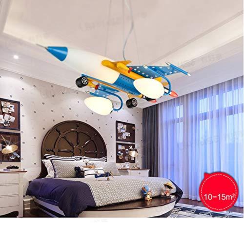 chter Flugzeuge kreative Cartoon Art Augapfel junge Kinder Schlafzimmer Schlafzimmer Beleuchtung LED-Beleuchtung ()