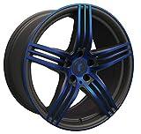 Rondell 217 Cerchioni 8,5x19 ET32 5x112 SWBLAUP per AUDI 100 A4 A5 A6 A7 A8 Q2 Q3 Q5 RS Q3 RS3 RS6 S4 S5 S6 S7 S8 SQ5