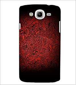 PrintDhaba Pattern D-2138 Back Case Cover for SAMSUNG GALAXY MEGA 5.8 (Multi-Coloured)