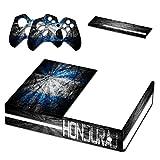 Graffiti Flagge Honduras, Designfolie Sticker Skin Aufkleber Schutzfolie mit Farbenfrohem Design für Xbox One
