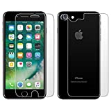 JTECH Impossible Screen Protector for Apple iPhone 7 Front & Back