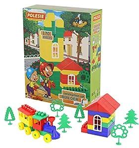 Polesie - Juego de construcción para niños de 170 Piezas (PW3447)