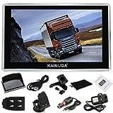 Kainuoa® 7 Zoll 8GB Europe Traffic GPS Navi Navigationsgerät Navigationssystem  mit kostenlosen lebenslangen Kartenupdates für ganz
