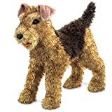 Folkmanis Puppet: airdale Terrier